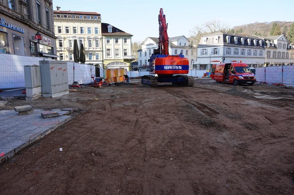 Baustelle Baden Baden